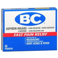 BC Pain Relief Powders, 50 Each (Pack of 2) from BC