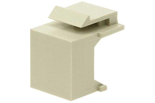 SF Cable, Snap-in Keystone Wallplate Blank Insert Ivory Ivory Blank Keystone Insert