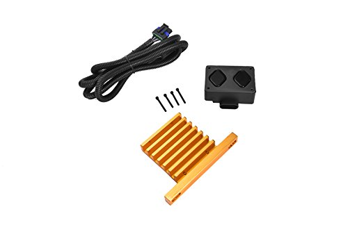 (YAZHE AUTOPARTS 6.5l diesel Pump Mounted Driver PMD FSD and relocation heat sink wiring harness for Chevy or GMC 6.5l Engine)