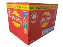 (Walkers Variety Bumper Box 36 x 25g)