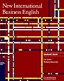 New International Business English, Leo Jones and Richard L. Alexander, 0521455804