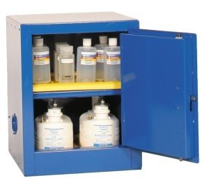 Eagle CRA-1924 Acid/Corrosive Safety Cabinet, Self-Closing, 1 Door, 1 Shelf, 23