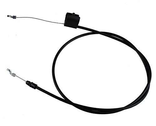Poulan Mower Parts (Podoy Lawn Mower Throttle Cable 158152 582991501 Engine Zone Control Cable for Husqvarna Poulan Craftsman Weed Eater)