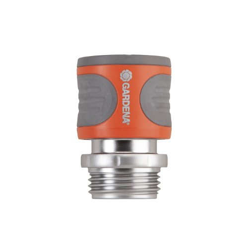 Gardena 39017 Premium Metal Female Garden Hose Connector