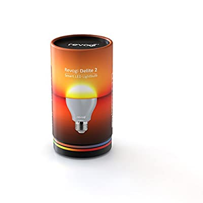 Revogi LTB012 Delite 2 Smart LED Light Bulb with Bluetooth