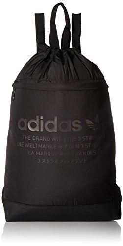 adidas Originals NMD Sackpack, Black, One Size