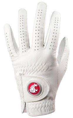 (Washington State Cougars Golf Glove & Ball Marker - Left Hand - X)
