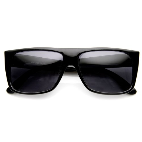 zeroUV - Classic Old School Eazy E Flat Top Polarized Locs Sunglasses - E Eazy Sunglasses Locs