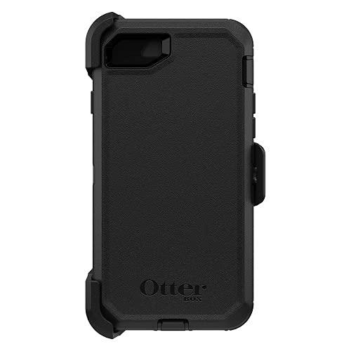OtterBox Defender - Funda de Protección Triple Capa para iPhone SE 2020/8/7, Negro