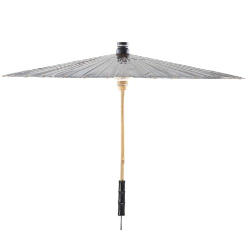 BRELLI Medium Grey bling Umbrella by BRELLI