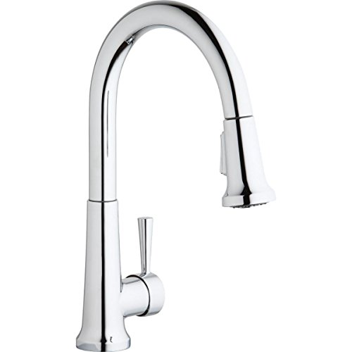 Elkay LK6000CR Everyday Chrome Single Lever Pull-down Spray Kitchen Faucet