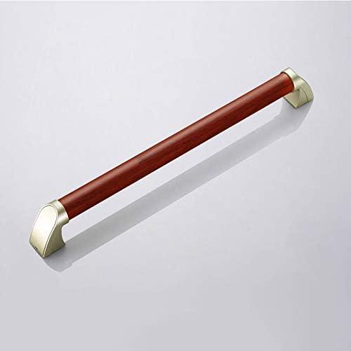 高齢者向けの和風ソリッドウッドバスルームセーフティレールバリアフリー手すり滑り止めハンドル,Mahogany 54cm