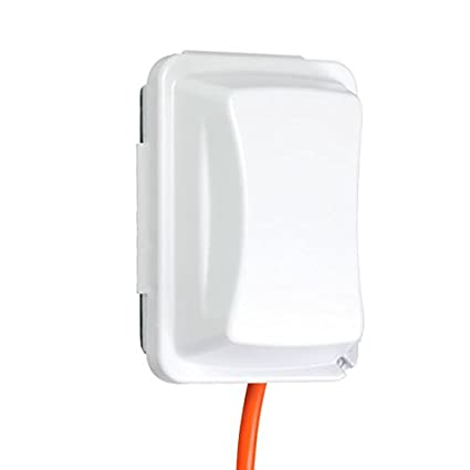 Taymac Mm410w Weatherproof Single Outlet Cover Outdoor Receptacle