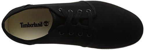 Timberland Mens Newport Bay Canvas Fashion Sneaker Black kxtwcUo