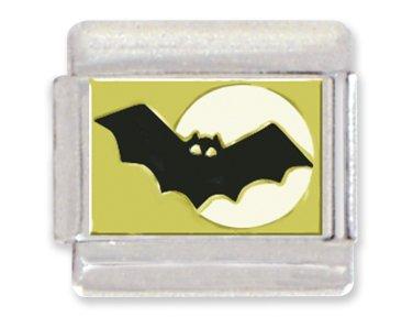 (Bat Italian Charm Bracelet Link)