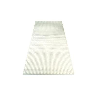 23.75 in. x 47.75 in. White Egg Crate Styrene Lighting Panel (5-Pack) by Generic
