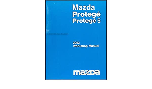 Mazda Protege 2003 Wiring Diagram Supplement Mazda Free