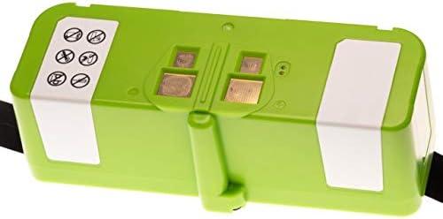vhbw Li-Ion batteria 4000mAh (14.4V) compatibile con iRobot Roomba 690, 691, 695, 696, 801, 805, 850, 860, 877, 890, 891, 895 home cleaner