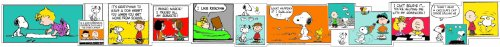 Eureka Peanuts Comic Blocks Extra Wide Deco Trim, Set of 12 Reusuable Strips, Each Strip Measuring 37
