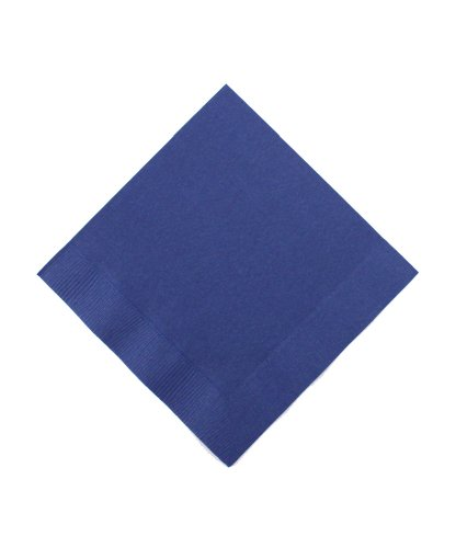 Beverage Size Napkins Navy 50 Pack product image
