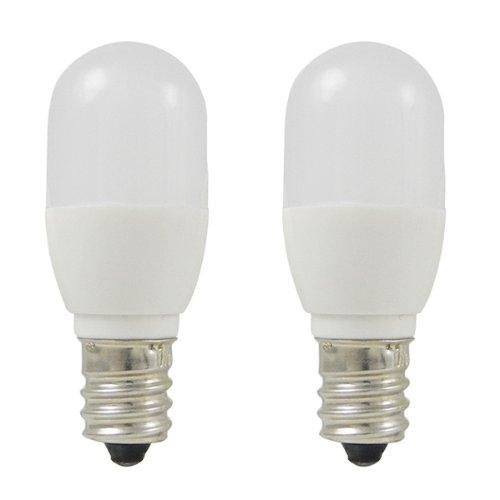 MENGS® Pack de 2 Bombilla lámpara LED 0.5 Watt E14, 3x 5050 SMD, Blanco Cálido, AC 220-240V: Amazon.es: Iluminación