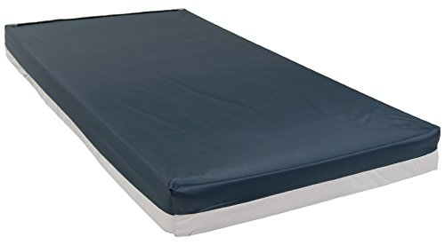 Drive Medical Bariatric Foam Mattress, Blue, 48 Inch by Drive Medical
