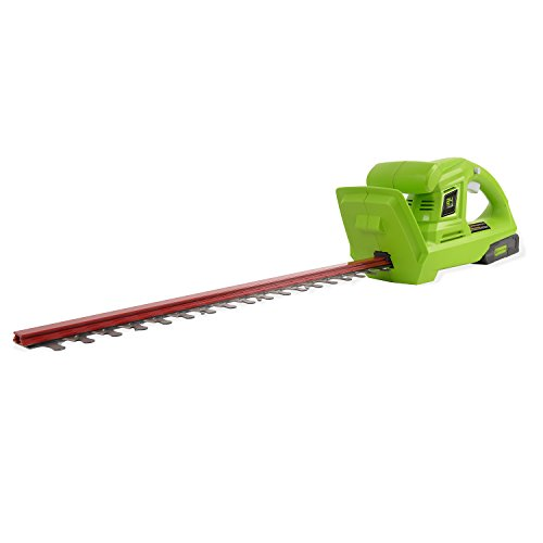 Greenworks 20-Inch 24V Cordless Hedge Trimmer with 2.0 AH Battery Included HT24B211 Review