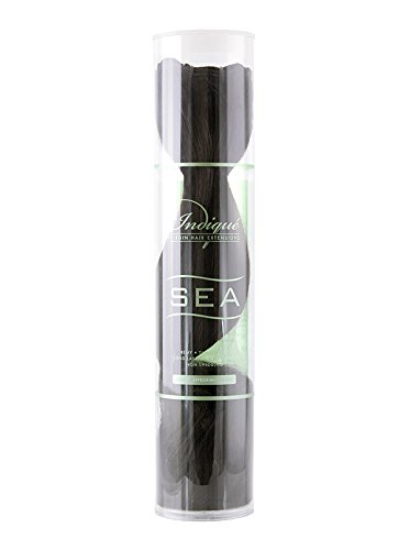 Indique Virgin Hair Extensions, Sea Zen Straight, 16 Inch, 3.2 Ounce