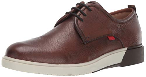 (MARC JOSEPH NEW YORK Mens Leather Tribeca Sneaker, tan Grainy 8.5 M US)
