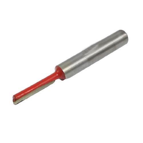 1/4 Shank 1/8 Klinge Gerade Fräser Cutter 53mm langes Modell: Home & Work Tools