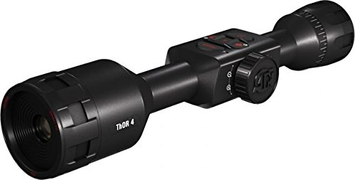 ATN ThOR 4 1-10x, 640x480, Thermal Rifle Scope w/Ultra Sensitive Next Gen Sensor, WiFi, Image Stabilization, Range Finder, Ballistic Calculator and IOS and Android Apps by ATN