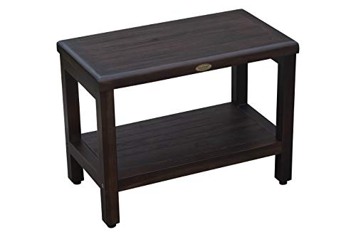 Decoteak Eleganto Shower Bench Brown
