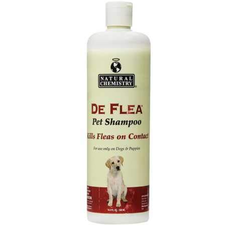 Natural Chemistry De Flea Shampoo for Dogs (16 oz) (Shampoo Deflea)