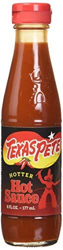 - Texas Pete Hotter Hot Sauce, 6 Ounce (4 Bottles)