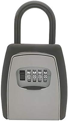 Caja de seguridad con candado para llaves, caja de almacenamiento ...