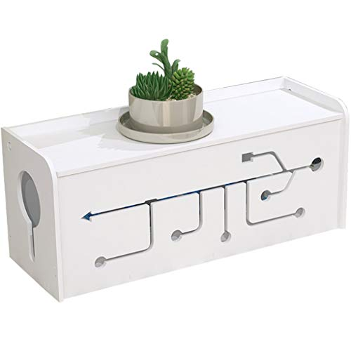 Cable Storage Box,Splicing Cable Management Box Organizer Power Strip Box Line Cable Tidy Unit USB Hubs Cable Management Extension Box