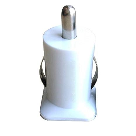 Hinmay Cargador de coche, adaptador de doble USB para iPad iPhone iPod Blackberry y telé fonos mó viles, cargador de coche USB rá pido de 2 puertos adaptador de doble USB para iPad iPhone iPod Blackberry y teléfonos móviles
