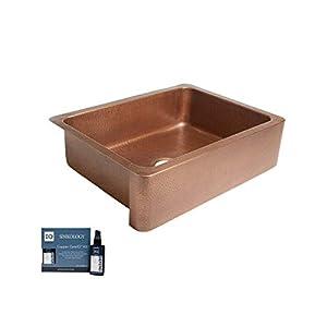 31%2BsyaSXQ7L._SS300_ Copper Farmhouse Sinks & Copper Apron Sinks