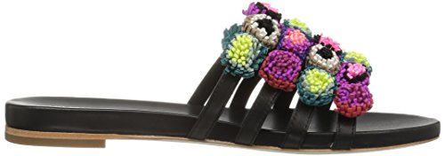 Multi Loeffler Slide Black Sal Randall Women's Sandal zqzxYC