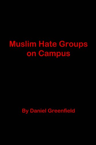 Muslim Hate Groups on Campus (Students For Justice In Palestine Hate Group)