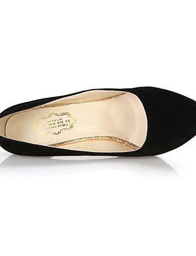 GGX/Damen Schuhe Fleece Sommer Heels Heels Casual Stiletto Heel andere schwarz/blau/Burgunderrot dark blue-us5.5 / eu36 / uk3.5 / cn35