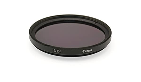 Gadget Place 49mm Neutral Density ND4 Filter for Sony Cyber-shot DSC-RX1R DSC-RX1R II DSC-RX1