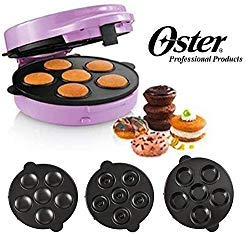 Oster Multi Dessert Maker - Makes Assorted Desserts - Mini Brownies, Mini Donuts and Mini Whoopee Pies