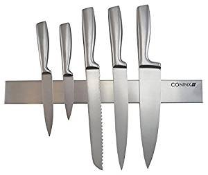 Magnetic Knife Strip 16 inch with Powerful Magnet by Coninx - Multi-Purpose Wall Kitchen Tool (Coltelli Da Cucina Utensili)