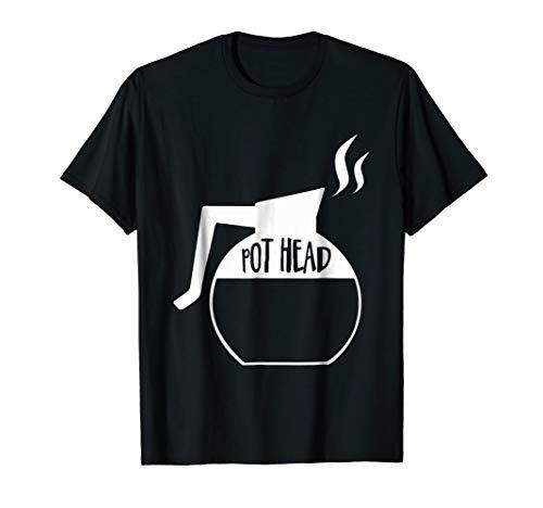 Pot Head T-shirt - Coffee, Italien Vintage, Job T-shirt | Pot Head Tee