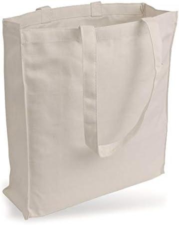 Yute Bolsa Bolsa de Lona de Jeans Similar plástico (Muy Robusto y Resistente.) sin Texto Impreso y Dos Asas largas con Pliegue de páginas de & Natural ...