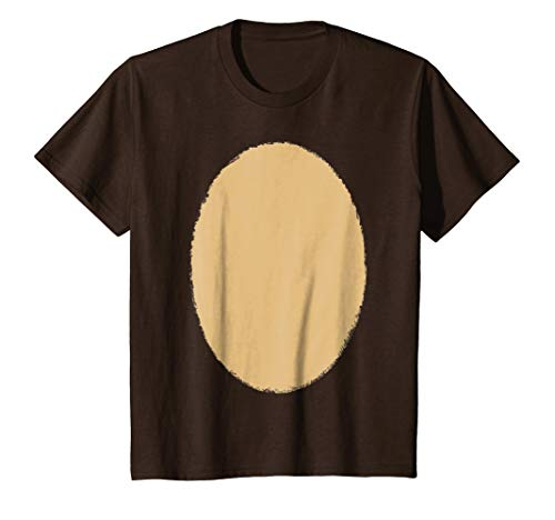 Kids Grizzly Bear Or Reindeer Costume Halloween Funny DIY T-Shirt 8 Brown -