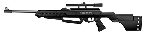 Black Ops Junior Sniper Rifle - Multi-Pump BB/Pellet Airgun - Shoot .177 BBs Or Pellets