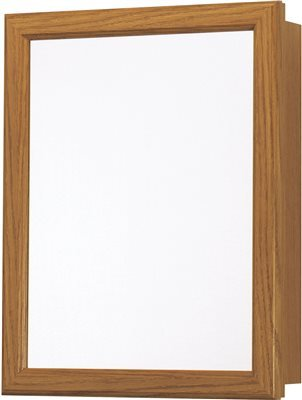 Rsi Home Products Sales CBS1620-11-R-B Oak Finish Medicine Cabinet, 15-1/4'' by 5'' by 19-1/4'' by Rsi Home Products Sales