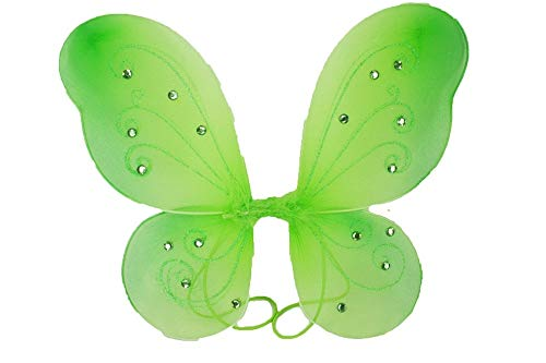 """1 - (17"""" x 13"""") Butterfly Fairy Costume Wings Apple Green Color Tkdream from Unknown"""